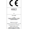 CF100 – Certificat CE