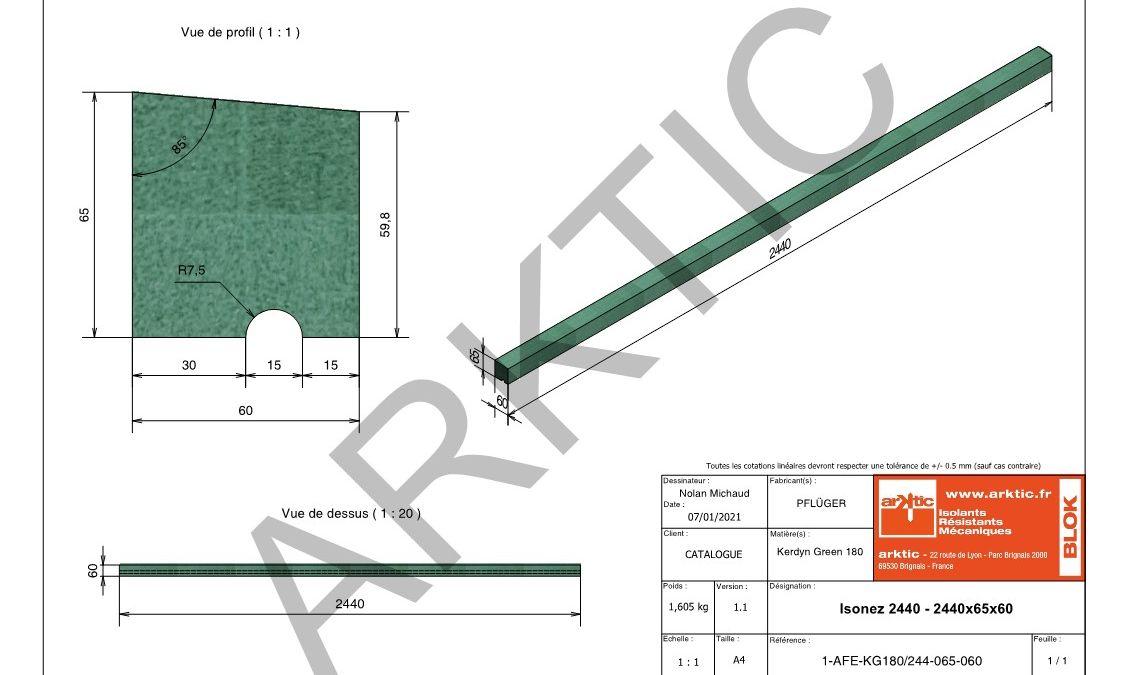 Isolnez 2440 - 2440x65x60 - Filigranne_1