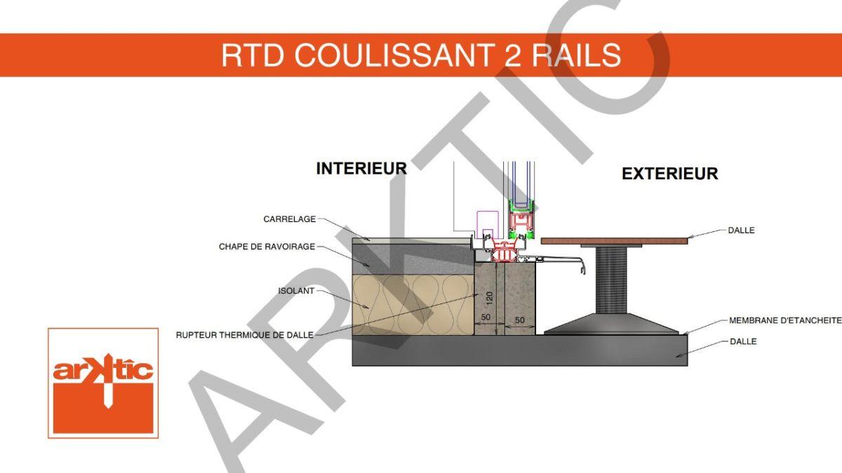 RTD Coulissant 2 Rails