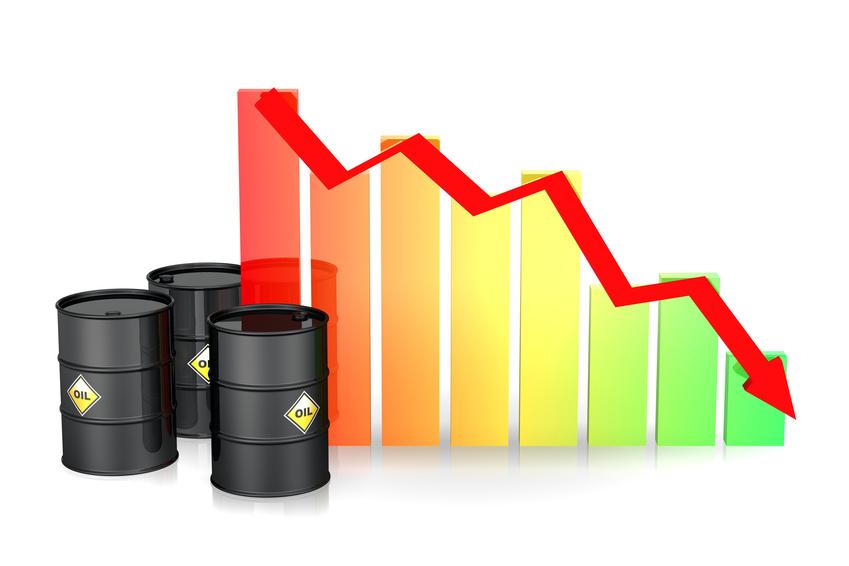 Chute du prix du pétrole